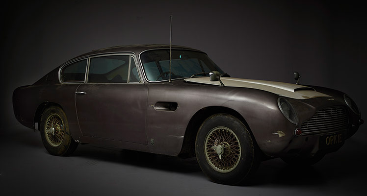 Barn Find – Aston Martin DB6